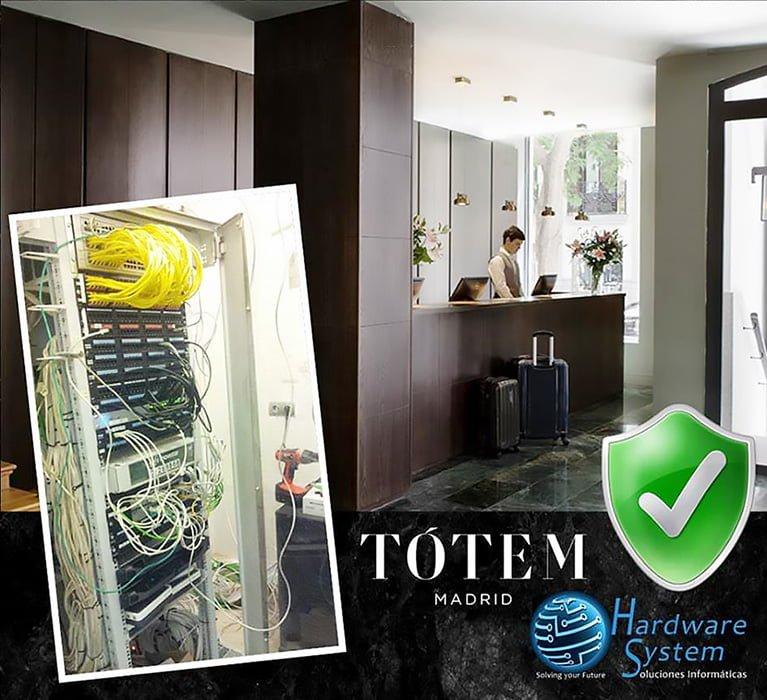 TOTEM. Instalaciones Hardware System